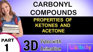 properties of ketones and acetone carbonyl compounds class 12 chemistry subject notes lectures cbse