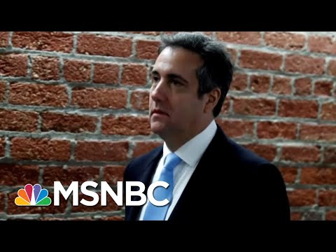 Avenatti: 'I Was First To Predict Michael Cohen Would Flip On Donald Trump'   Hallie Jackson   MSNBC  