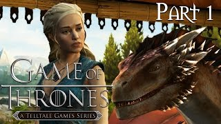 Game of Thrones Episode 4 Walkthrough Gameplay Part 1 - Son of Winter
