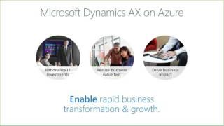 Taking Microsoft Dynamics AX to Azure