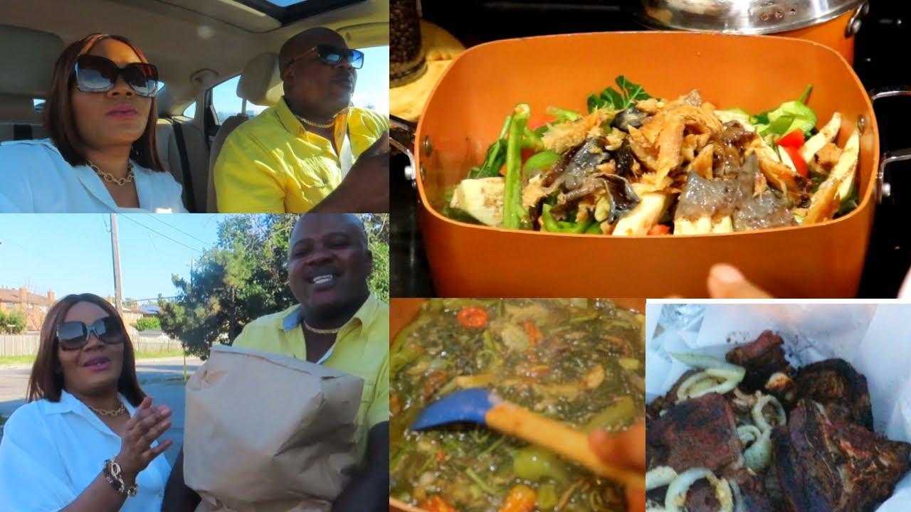 Vlog Papi  et Mamie| Recette comment je prepare mon  legume vert