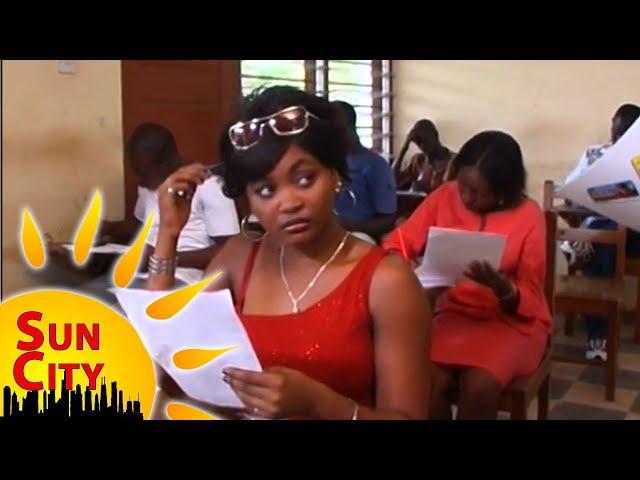 SUN CITY |ROUTINE DAY & GODFRED PALAVA| | TV SERIES GHANA