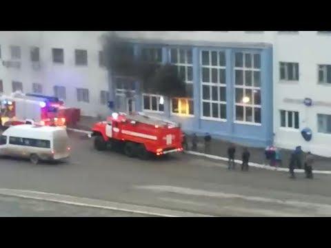 """Филиал """"Почты России"""" горел неспешно. Real Video"""