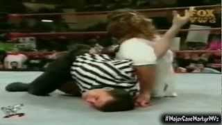 Mankind Holds Shane McMahon Hostage - WWF (WWE) RAW IS WAR 4/1/99