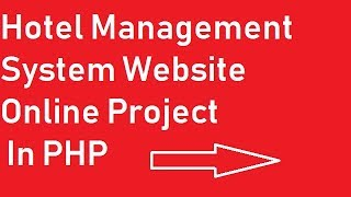 Hotel Management system website project in php create table and database in mysql  in hindi Mp3
