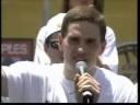 Mark Madsen's Speech At 2002 Lakers Championship Parade