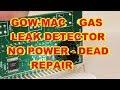 GOW MAC 21-070 MINI GAS LEAK DETECTOR NO POWER REPAIR FIX