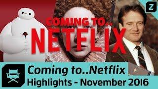 NEU bei NETFLIX im November 2016 - Beste Filme und Serien