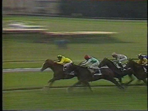 Old Vic and Steve Cauthen Prix Du Jockey Club