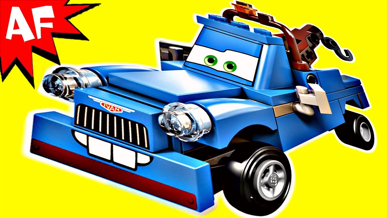 Lego Cars 2 Ivan Mater Set 9479 Animated Building Review Youtube