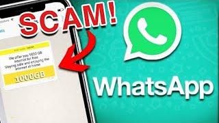 Top 5 WhatsApp SCAMS (2020)