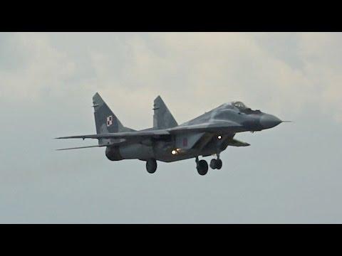 Saab JAS-39C Gripen vs Mikoyan MiG-29A Swedish Air Force vs Polish Air Force