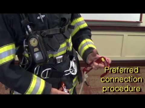 Firefighter VRS  Rigging Option #1: Escape Belt over the Coat