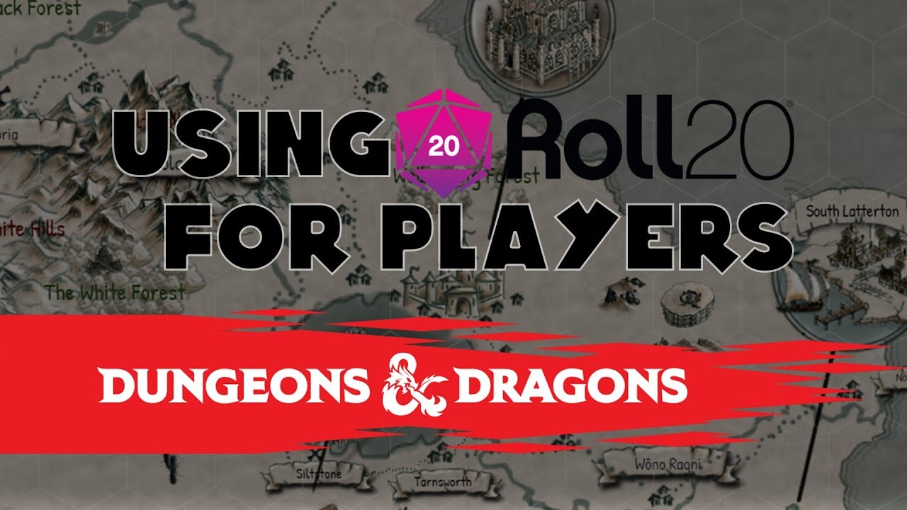 Using Roll20 for Players (5th Edition Dungeons and Dragons)