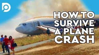 How To Survive A Plane Crash!? - Myths Debunked