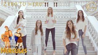 """""""Zero to Hero"""" by Gardiner Sisters / Hercules (with Lyrics)"""