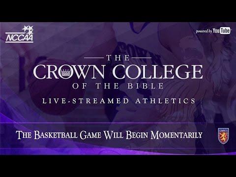 Crown College vs Johnson University • Men's Basketball • February 2, 2106 • 7:00 PM