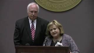 AEA press conference regarding PEEHIP lawsuit