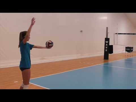 Jackie Jones Skills Video - Class of 2018 OH - WAVE VBC