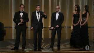 The Descendants Wins Adapted Screenplay: 2012 Oscars