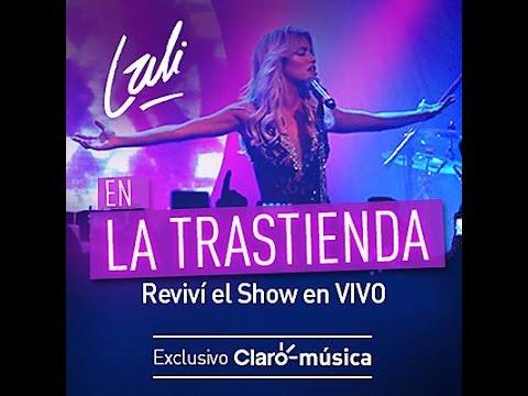 CD Lali Esposito En vivo en la Trastienda 2015