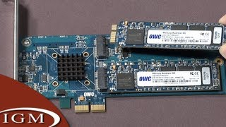 Hackintosh Project: Mercury Accelsior PCIe SSD Upgrade from Other World Computing (#10)