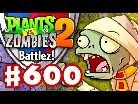 BATTLEZ! New Mode! 10 Wins in a Row! - Plants vs. Zombies 2 - Gameplay Walkthrough Part 600
