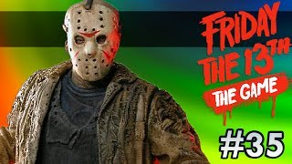 JASON ALWAYS GETS HIS PRIZE! | Friday the 13th The Game #35 Ft. Friends