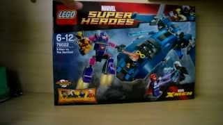 Обзор набора LEGO Marvel Super Heroes 76022 Люди Икс Против Стража
