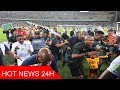 watch he video of Security guard 'fighting for his life' after Kaizer Chiefs' fans run riot