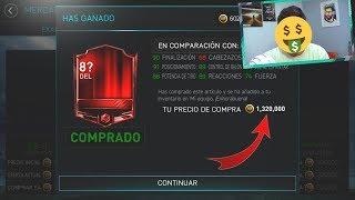 JUGADOR DE MAS DE 1.300.000 DE MONEDAS !!! (PALOS DROID)    FIFA 18 MOBILE