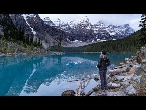 Banff National Park Adventure in 4K | Canadian Rockies | Moraine Lake