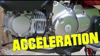 2018 Honda Monkey 125 acceleration