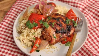 Harissa Roasted Chicken Recipe   Ep. 1339