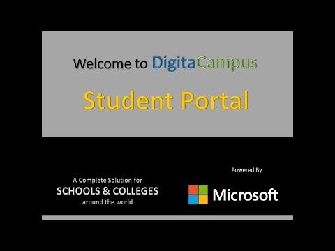 Digitacampus Student Parent Portal - Campus Management System