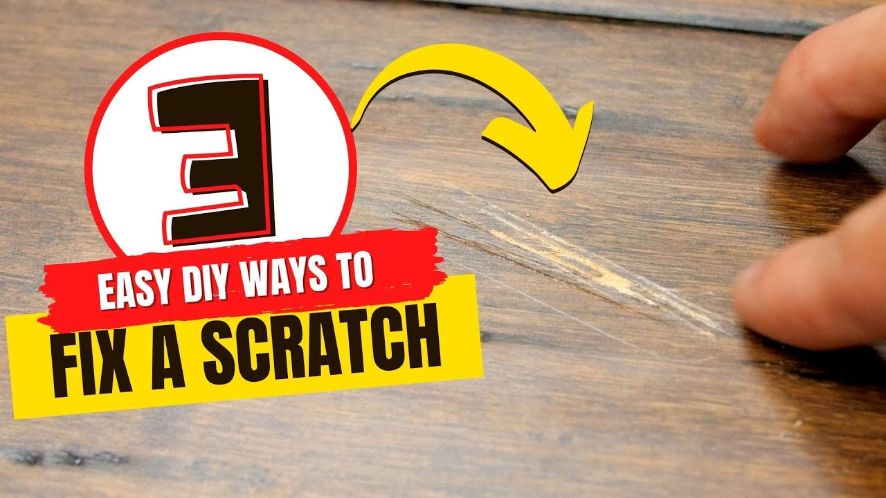 3 DIY Ways to Fix a Scratch in Hardwood Floors