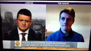 Tommy Robinson giving the Arab world a message from the Patriots of Europe - 07/02/2016