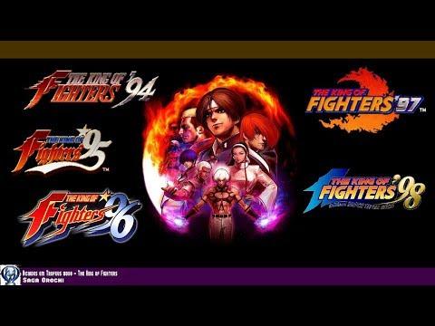 Сюжет The King Of Fighters #1 - Orochi Saga