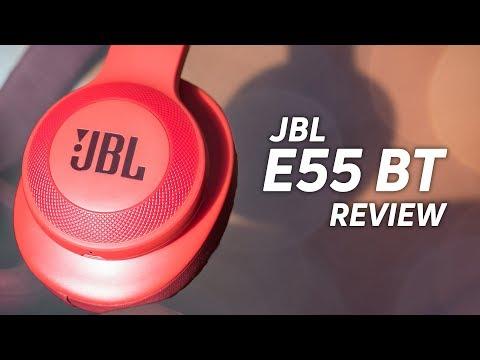 JBL E55BT Wireless Headphones Review