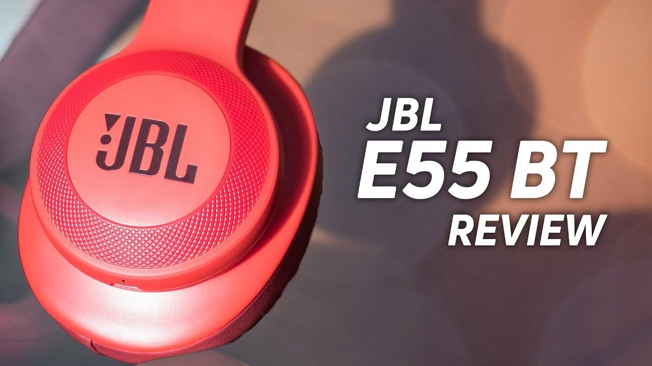 JBL E55BT Wireless Headphones Review - YouTube 1512597d188c