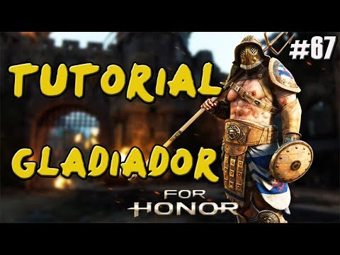 FOR HONOR | GUIA TUTORIAL PVP GLADIATOR (GLADIADOR) | COMBOS Y TRUCOS | CABALLERO | GAMEPLAY ESPAÑOL