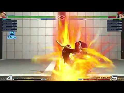 King of Fighters 14 - Terry's Buster Wolf