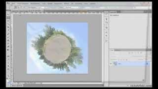 Как создать круговую панораму в Adobe Photoshop CS5/CS6?