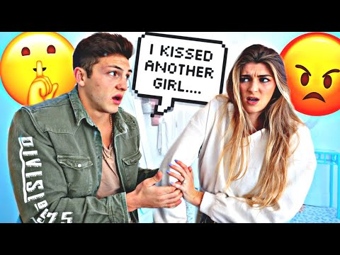 I KISSED ANOTHER GIRL ON NEW YEARS PRANK ON FIANCE