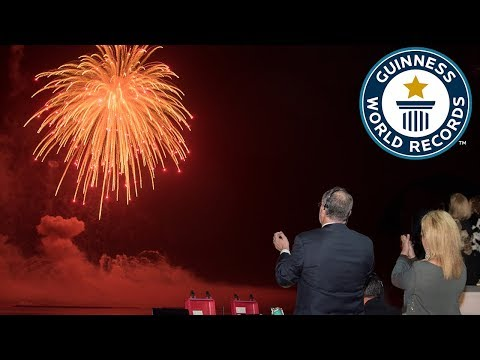 Largest Aerial Firework Shell - Guinness World Records