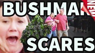 BUSHMAN SCARE PRANK - S04E03-E07 - FUNNY VIDEO - #funnyvideo #bushmanprank