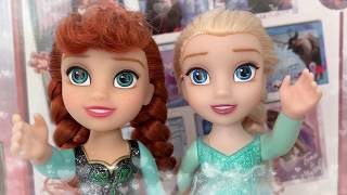 Frozen 2 Puzzles - Elsa Anna -  unboxing for toddlers girls kids children