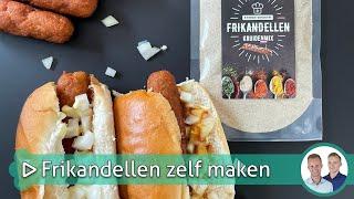 Frikandellen zelf maken   Koken & bakken met SterkInDeKeuken!