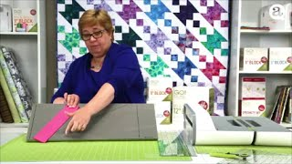 How to Cut Diamonds with AccuQuilt GO! Strip Cutter Dies