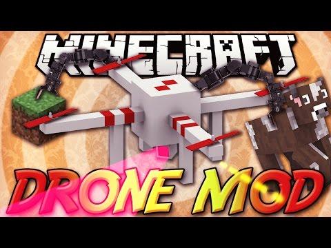 Minecraft ITA - Mod: COSTRUIRE IL PROPRIO DRONE - Controller, Drone Cam, Aiutante, Volare